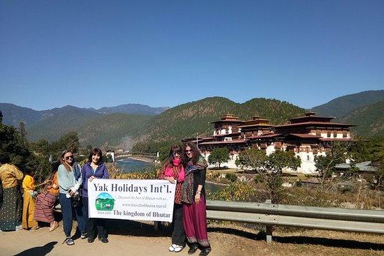 7 días de gira por Bután Occidental.