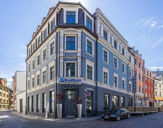 Wellton Centrum Hotel & Spa, Hotels in Riga