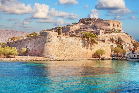 Spinalonga-eiland en Agios ...