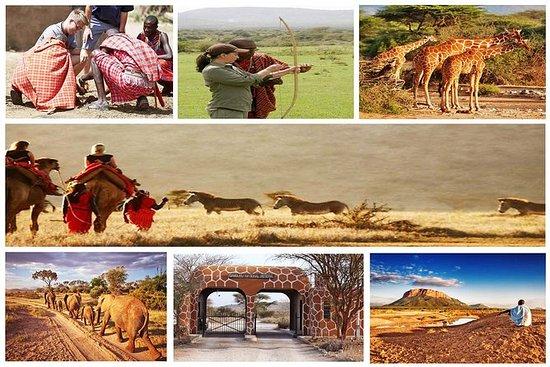 3-dagers Samburu og Namunyak...