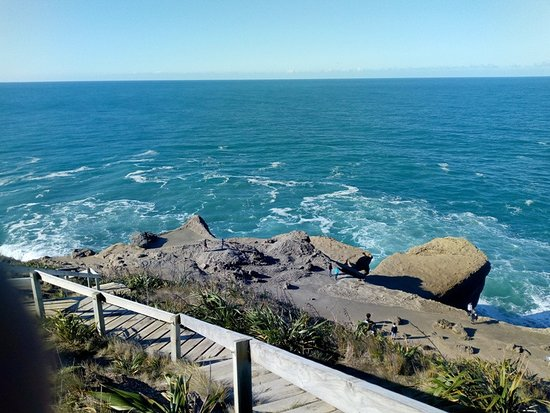 Castlepoint, นิวซีแลนด์: The waves