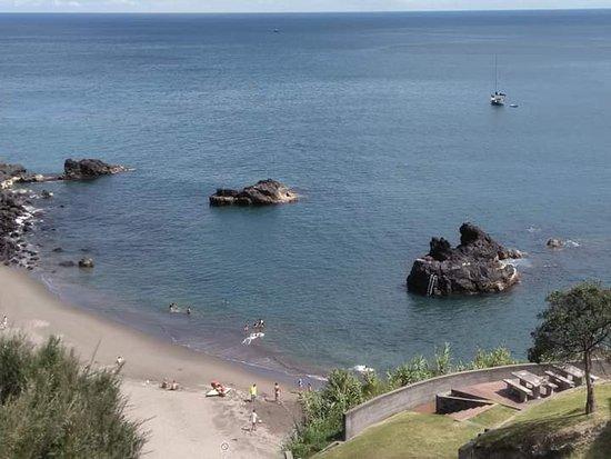 Ribeira das Tainhas, Portugal: Praia do calhau da areia