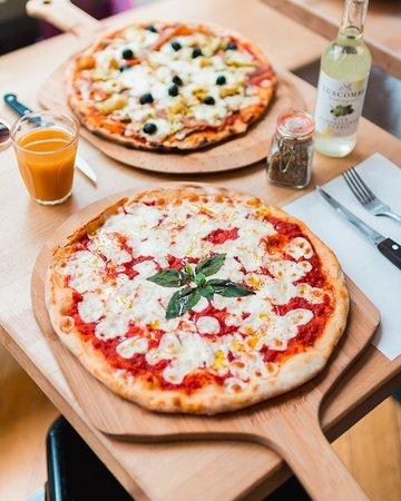 Margheritta pizza!