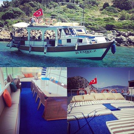 Turunc, Turquie : Mere-Z Boat Captain Baris