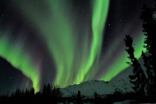 Wiseman, Alaska: Aurora