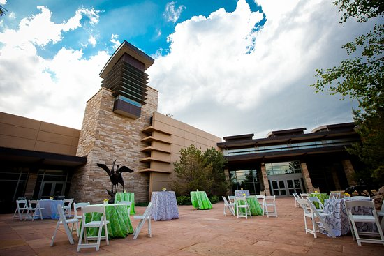 Lone Tree, CO: Beautiful architecture, landscaping and a sculpture garden converge around the Courtyard, offering a beautiful setting for your event.