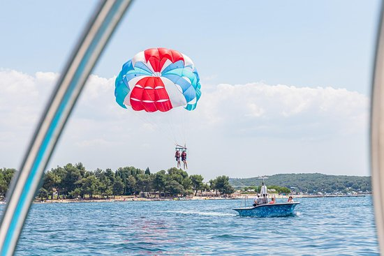 Rovinj parasailing and watersports