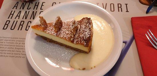 Cheesecake al limone (limoni di Amalfi) una delizia
