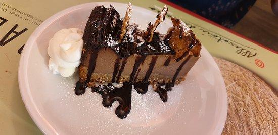 Cheesecake al cioccolato, imperdibile anche questa.