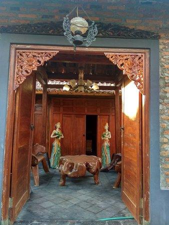Godean, Indonesië: Homestay bergaya tradisional house,terletak di pinggiran barat kota Yogyakarta