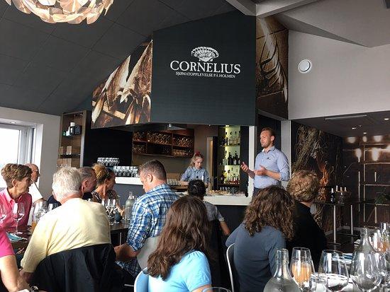 Cornelius Sjømatrestaurant: Restaurant Cornelius