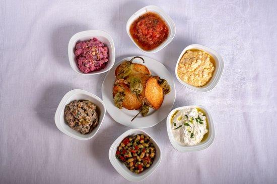 Vranas, Hy Lạp: sauces