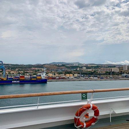 Marsella, Francia: 1ª tappa -> Marseille vista nave ☁️
