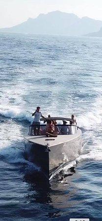 Boat day trip to St Tropez