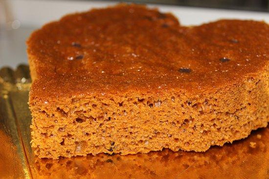 Faverolles-sur-Cher, Francja: Venez découvrir nos pains d'épices: aux noix, à l'orange, au thym, aux figues ou aux pépites de chocolat sans oublier notre délicieux pain d'épices aux pruneaux armagnac!