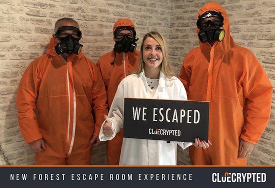 Foto de ClueCrypted Escape Room