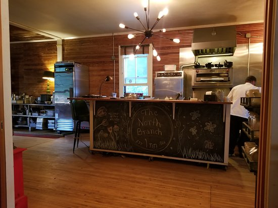 North Branch, NY: Open and approachable kitchen