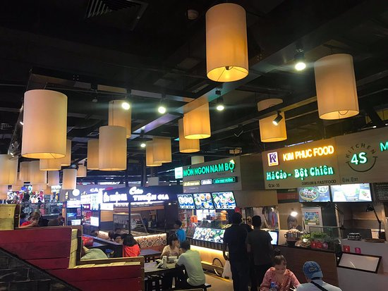 A corner of Asiana Food Town