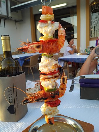 Santa Barbara de Nexe, โปรตุเกส: famous kebab