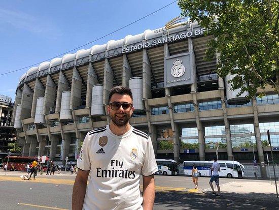 Saba Estadio Santiago Bernabéu