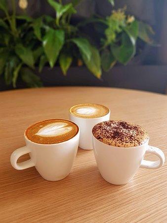 We serve All Press Coffee