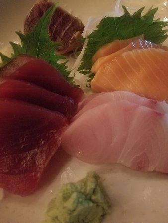 Order the sashimi