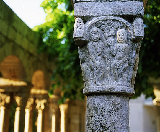 Romanesque cloister of Sant Domenec (Museum of the town)