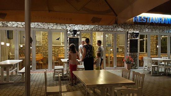 Wellness Park Pension: Terrasse des Restaurants