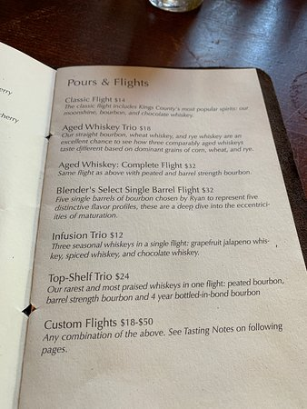 Kings County Distillery (New York City) - Updated 2019 - All