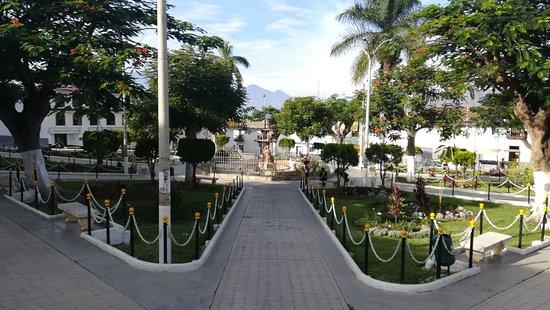 Cascas, بيرو: Plaza de armas de cascas