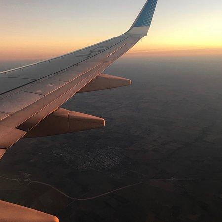 """América do Sul: """"El otro punto de vista"""" ... puesta del sol en el cielo. Dedicado a todos los que amamos los atardeceres 🤗"""