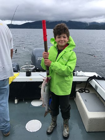 My first fishing trip. It was great