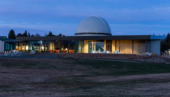 Dark Sky Project and Diner is located on Tekapo lakefront, boasting spectacular views of the lake, mountains, and Church of the Good Shepherd.