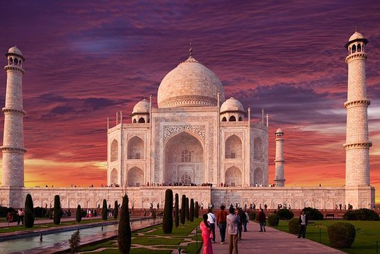 Dagstur til Taj Mahal, Agra fort og...