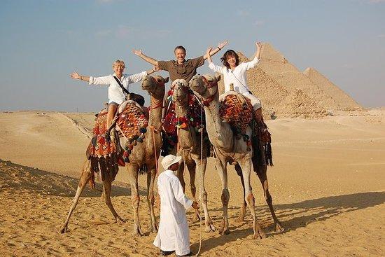 giza pyramids , camel ride quad bike and night light show all inclusive