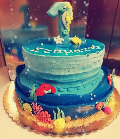 Peachy Sea Bottom Birthday Cake Zaxaroplasteiagiannis Seabottom Summer Funny Birthday Cards Online Overcheapnameinfo