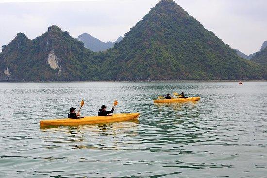 Lan Ha Bay, Halong Bay & Kajakk med Escape Sails