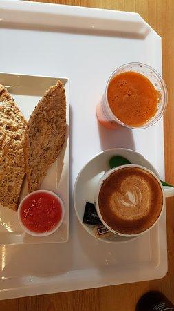 Desayuno - Tostada aceite y tomate