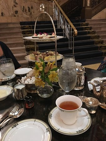 Afternoon Tea at The Brown Palace Hotel: High tea