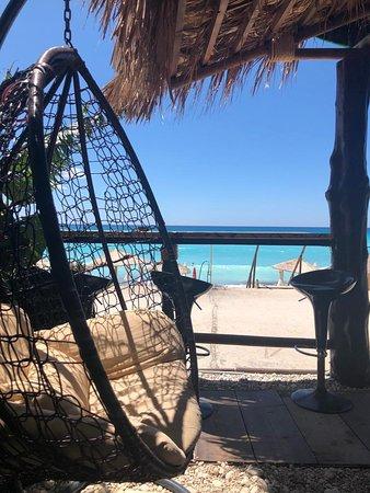 Swing Chair At Waikik Beach Bar