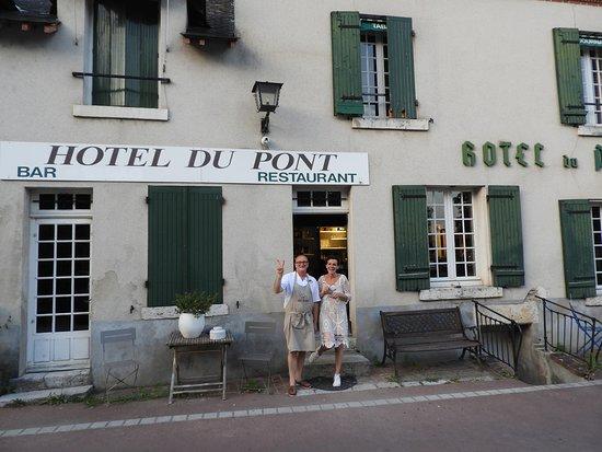 Molineuf, Francja: Hotel Du Pont. Thank you!