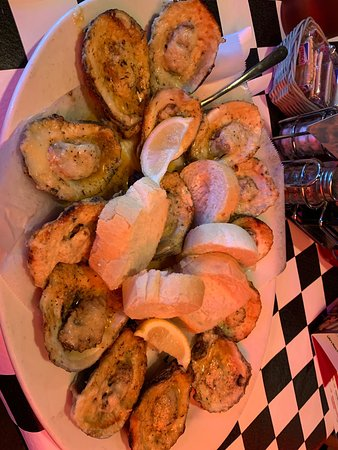 Favorite Chargrilled Oysters