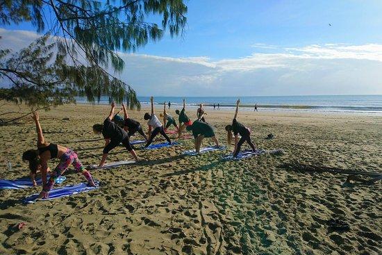 Beach Yoga Port Douglas