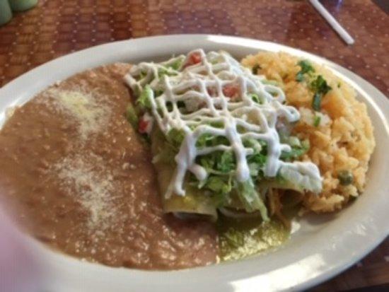 Riverside, NJ: Chicken enchiladas
