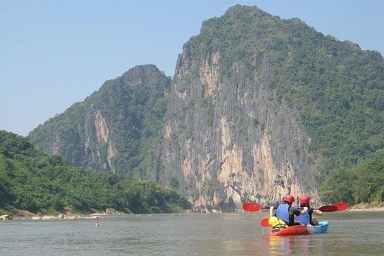 全天 -  Nam Ou / Mekong河上的Kuang...
