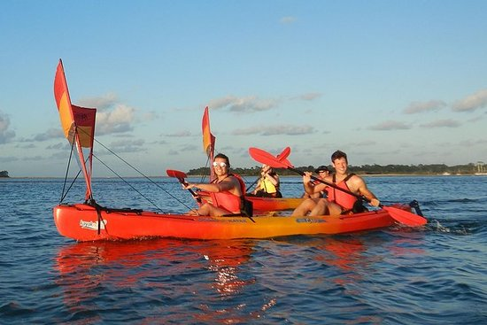 日落皮划艇帆船之旅