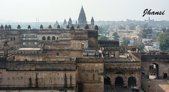 Madhya Pradesh, India: Temple at Orchha.