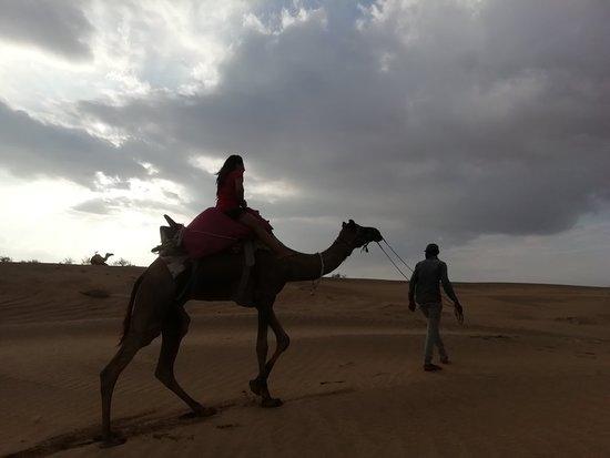 Die Milliarden Sterne Erfahrung in der Wüste Foto