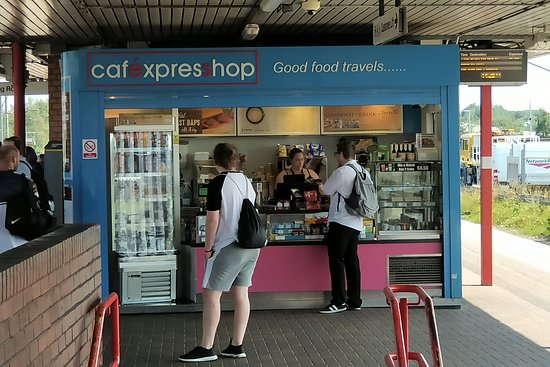 Cafe Express Warrington Bank Quay Railway Station Parker