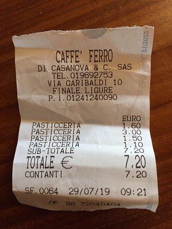 Micro colazione maxi prezzo